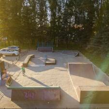 Скейт парк в Дедовске, Московская область - FK-ramps