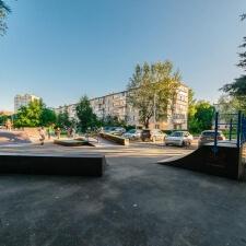 Деревянный скейт парк в Дедовске - FK-ramps