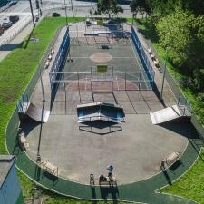 Скейт парк на улице Берзарина в Москве - FK-ramps