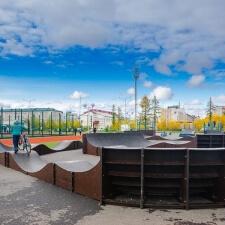 Фото: скейт парк и памп трек в Лабытнангах - FK-ramps
