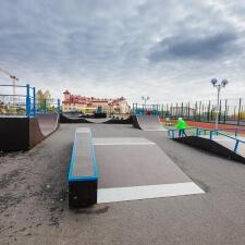 Проект: скейт парк и памп трек в Лабытнангах - FK-ramps