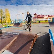 Скейт парк и памп трек в Лабытнангах - FK-ramps