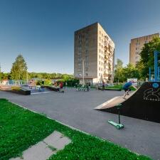 Скейт парк в Скоропусковском, Московская область - FK-ramps