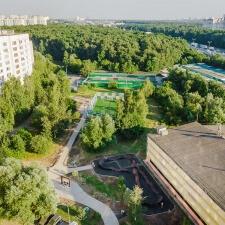 Модульный памп трек Теплый Стан, Москва - FK-ramps