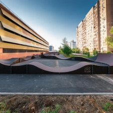 Кольцевой памп трек Теплый Стан, Москва - FK-ramps