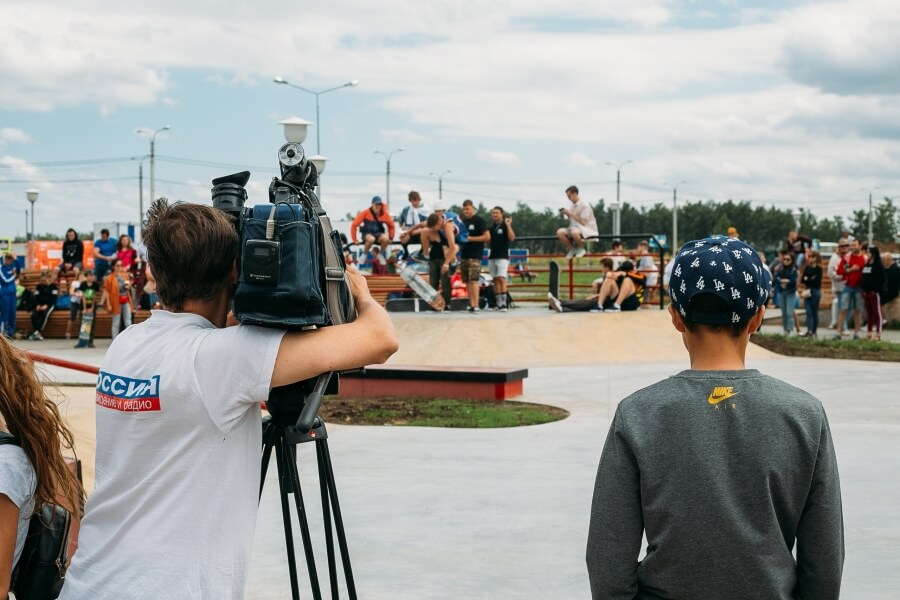 Открытие скейт-парка в Чебоксарах