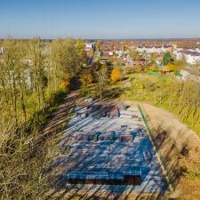 Проект: деревянный скейт парк в Дубровке