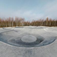 Бетонный скейт парк в Ярославской области