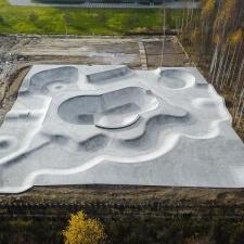 Скейт парк из бетона: готовый проект