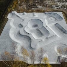 Скейт парк из бетона в Ярославской области