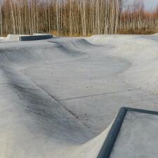 Бетонный скейт парк от компании FK-ramps