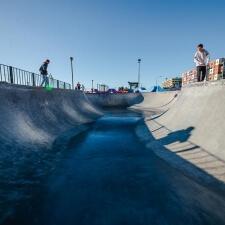Бетонный скейт парк от FK-ramps в Санкт-Петербурге
