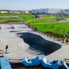 Проект скейт парка МЕГА Дыбенко