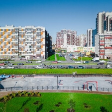 Бетонный скейт парк в Санкт-Петербурге