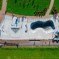 Проект: бетонный скейт парк МЕГА Дыбенко