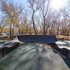 Велотрасса в парке Строителей Орска