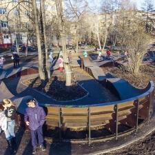 Фото: модульный памп трек в Кемерово