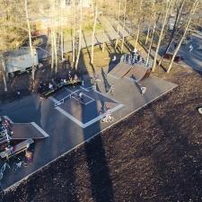 Каркасный скейт парк в Кемерово