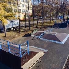 Фото: каркасный скейт парк в Кемерово