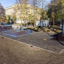 Новый экстрим-парк в Кемерово
