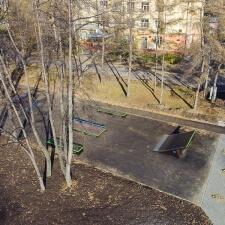 Общий вид: каркасный скейт парк в Кемерово