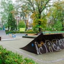 Деревянный скейт парк в Краснодарском крае