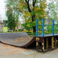 Реконструкция городского скейт парка в Лабинске