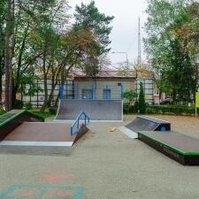 Деревянный скейт парк от FK-ramps