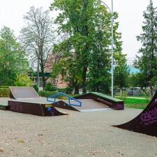 Деревянный скейт парк в Лабинске от FK-ramps
