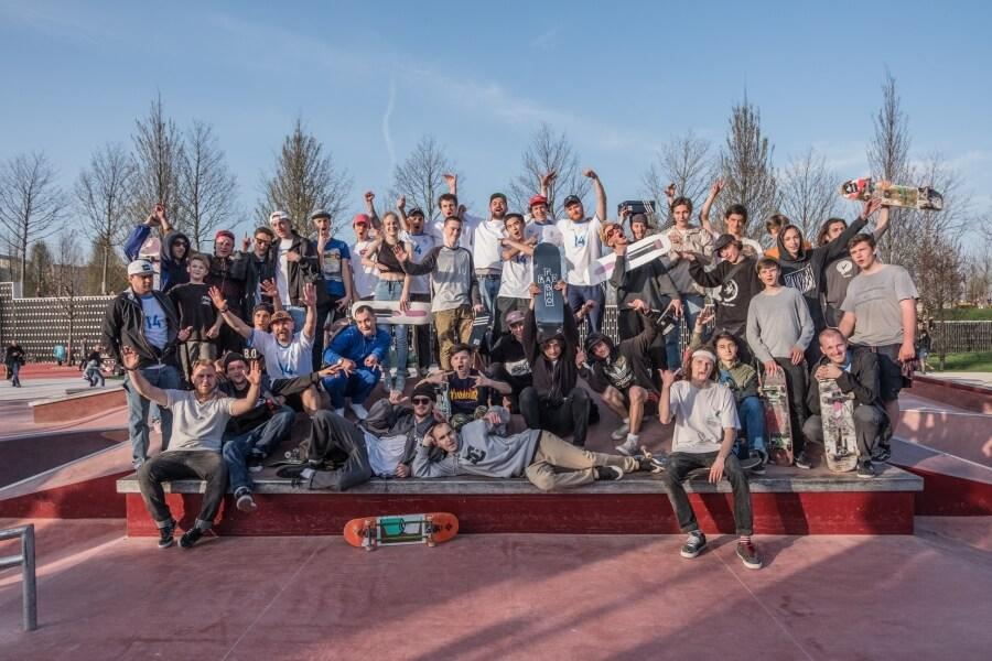 скейтбордисты в Краснодаре