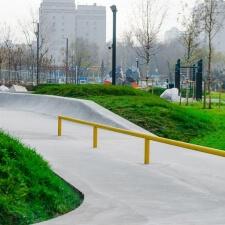 Строительство бетонных скейт парков в России
