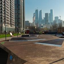 Скейт парк в Москве от компании FK-ramps