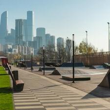 Стрит парк в ЖК Сердце Столицы