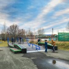 Деревянный скейтпарк в Республике Саха
