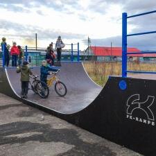 Алданский деревянный скейт парк