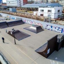 скейт парк в Саратове