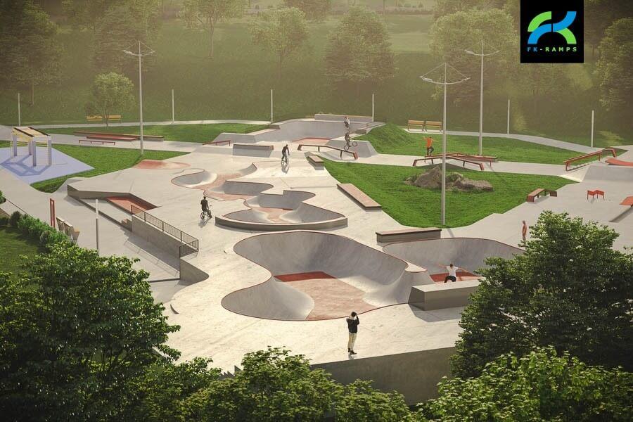 проект скейтпарка