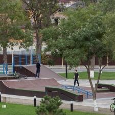 Скейт парк на Северном Кавказе
