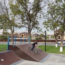 Скейт парк в парке Хусейна бен Талала