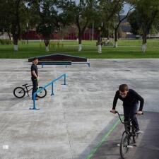 Скейт парк в Чеченской республике
