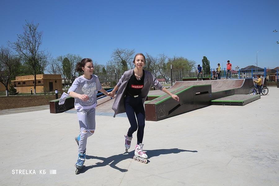 Скейт парк в Грозном