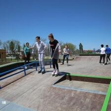 Один из первых скейт парков на Северном Кавказе