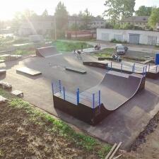 Скейт парк в Вологодской области