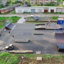 Скейт парк в Грязовце