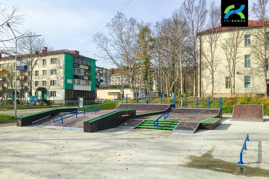 Скейт парк в Макарове, Сахалинская область