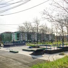 Скейт парк в Макарове: фото