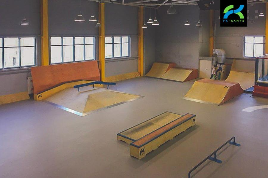 Крытый скейт парк в Норильске
