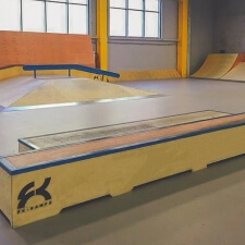 Скейтпарк в Норильске