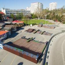 Скейт площадка в Артбухте Севастополя