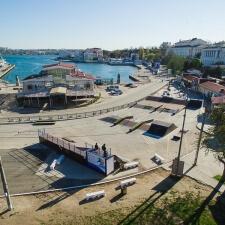 Роликодром в Артбухте Севастополя